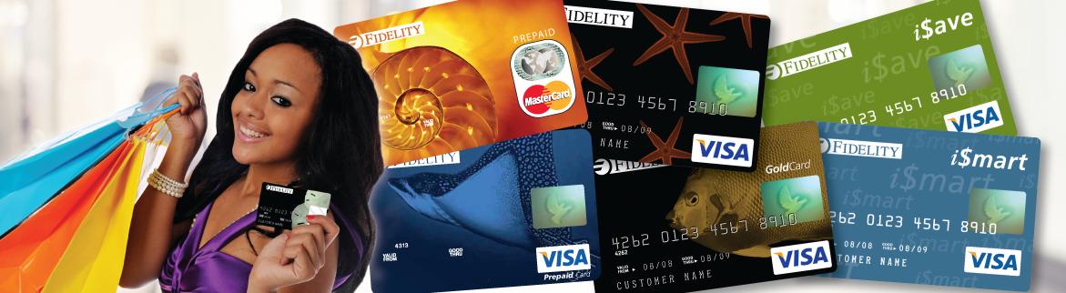 Fidelity Visa/Credit/Debit Bank Cards