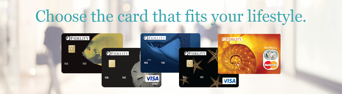 Fidelity Visa/Master/Debit Cards in Cayman
